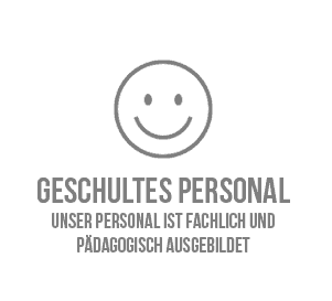 Geschultes Personal